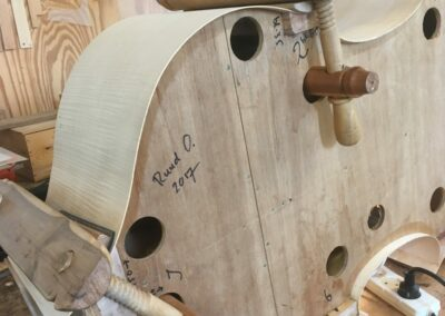 Double bass by Ruud